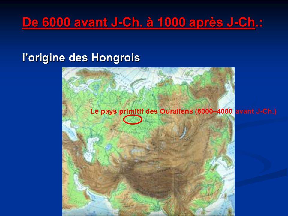De 6000 avant J-Ch. à 1000 après J-Ch.: