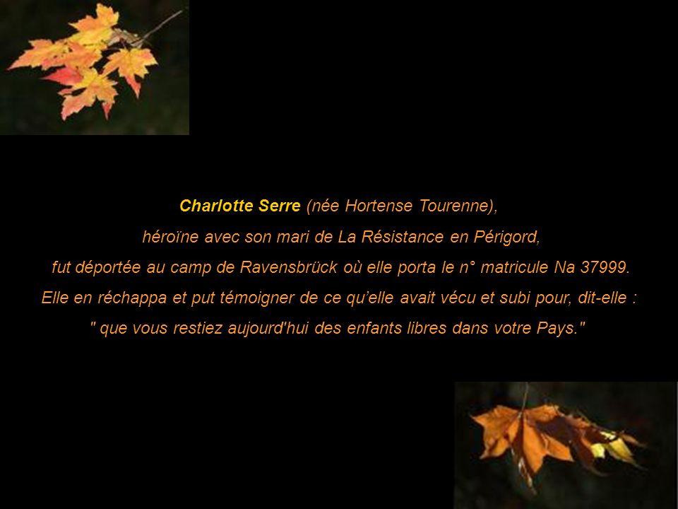 Charlotte Serre (née Hortense Tourenne),