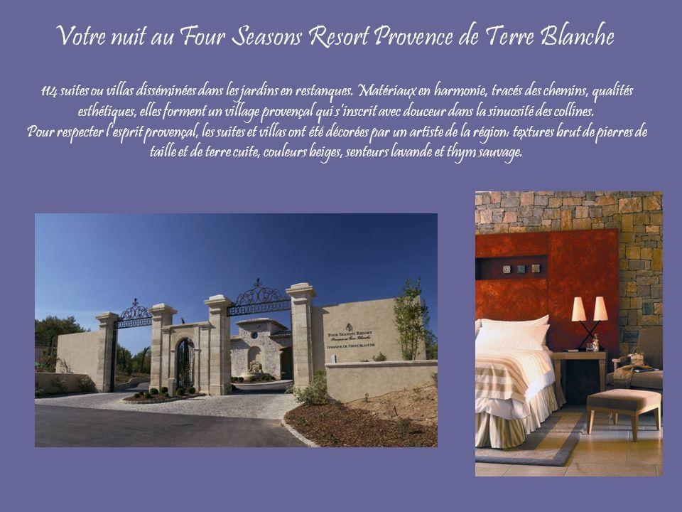 Votre nuit au Four Seasons Resort Provence de Terre Blanche