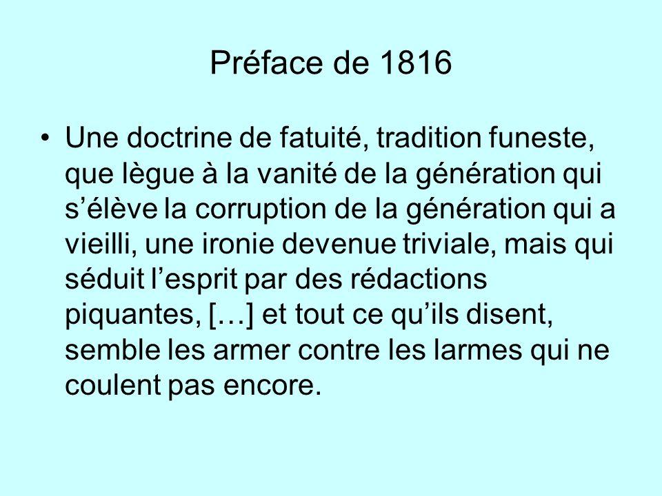 Préface de 1816