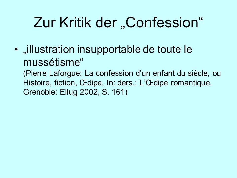 """Zur Kritik der """"Confession"""