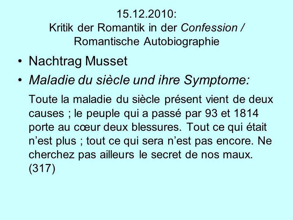 Maladie du siècle und ihre Symptome: