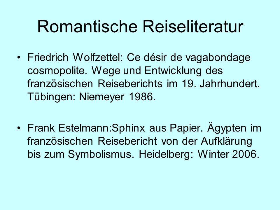 Romantische Reiseliteratur