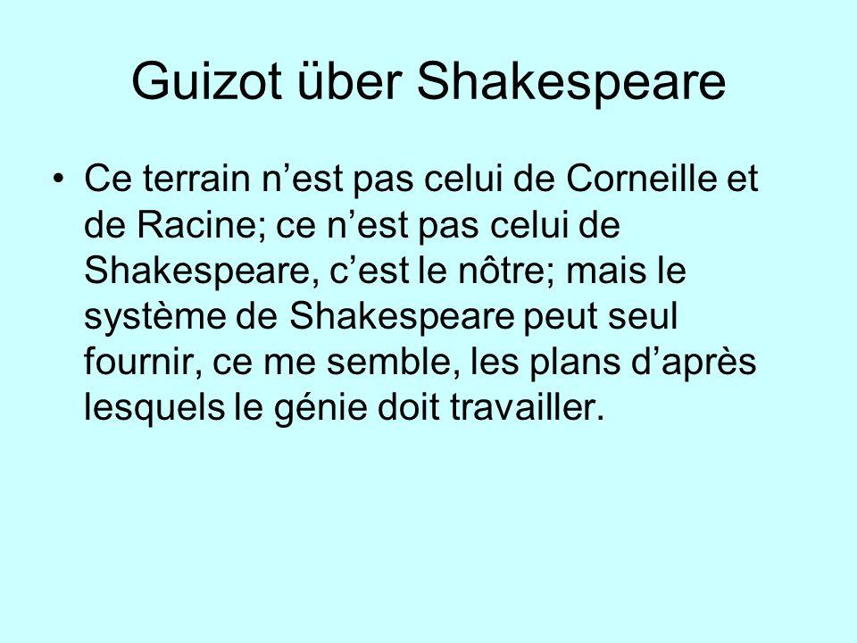 Guizot über Shakespeare