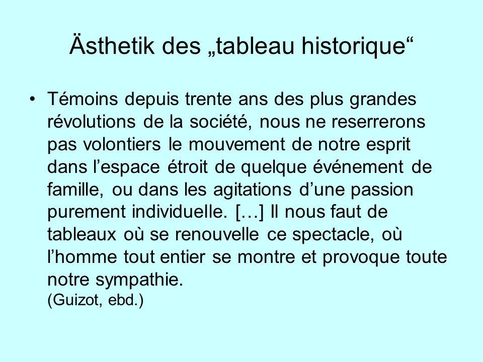 """Ästhetik des """"tableau historique"""