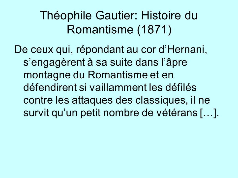Théophile Gautier: Histoire du Romantisme (1871)