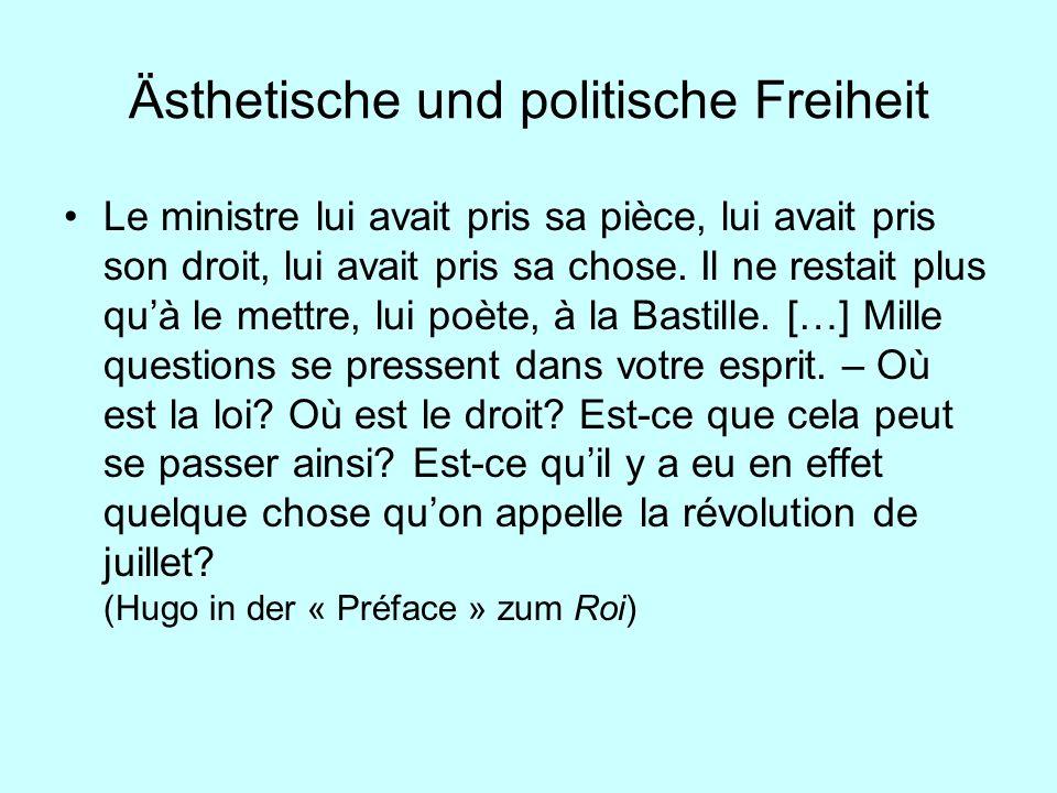 Ästhetische und politische Freiheit