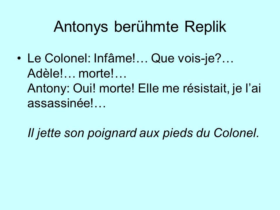 Antonys berühmte Replik