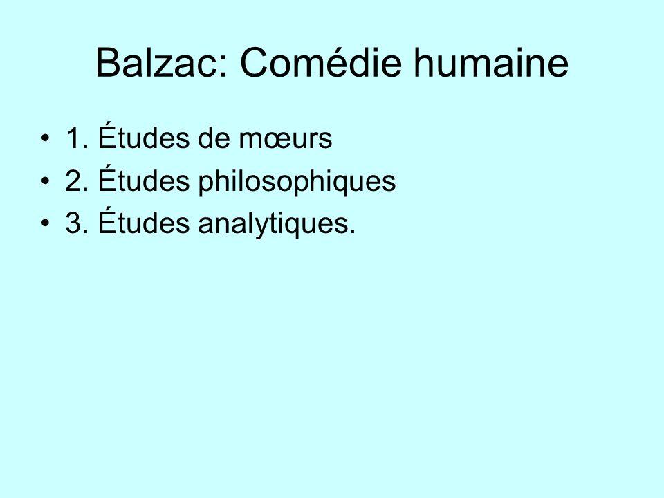 Balzac: Comédie humaine