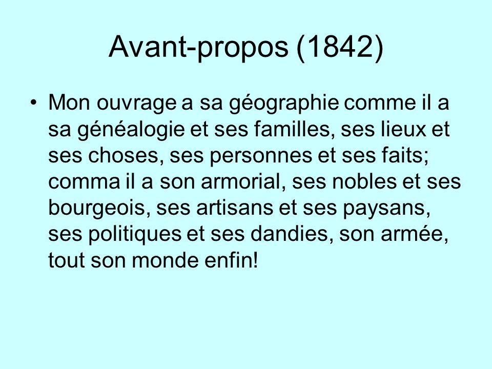 Avant-propos (1842)