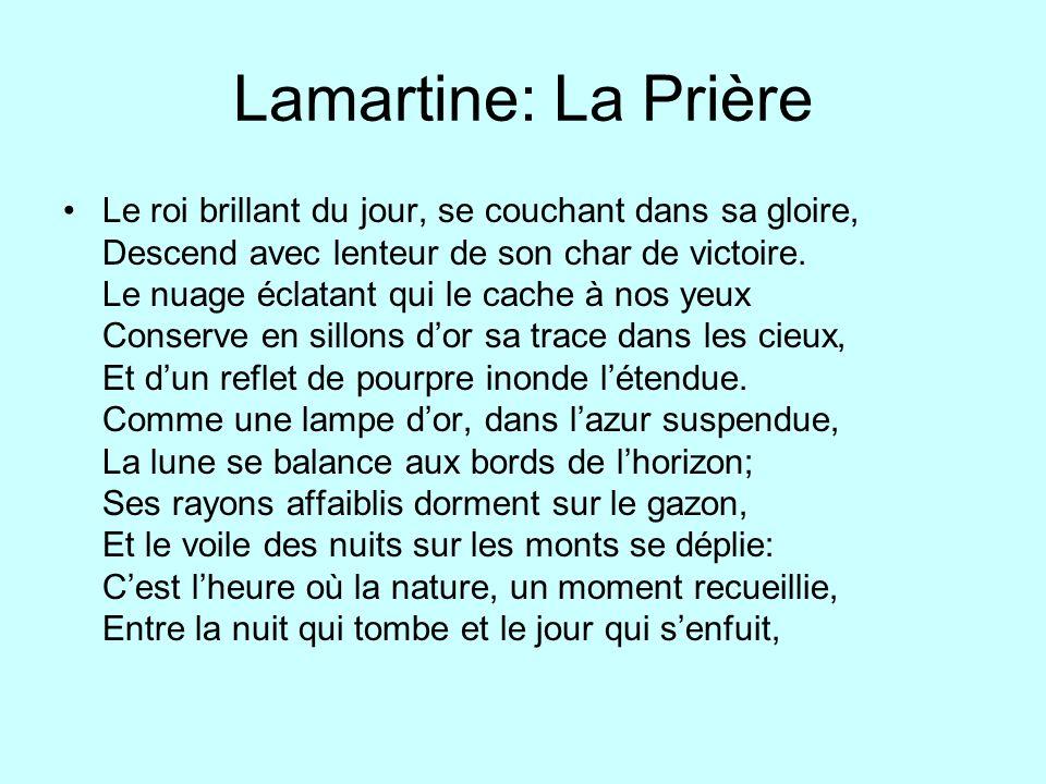 Lamartine: La Prière