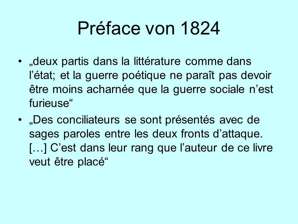 Préface von 1824