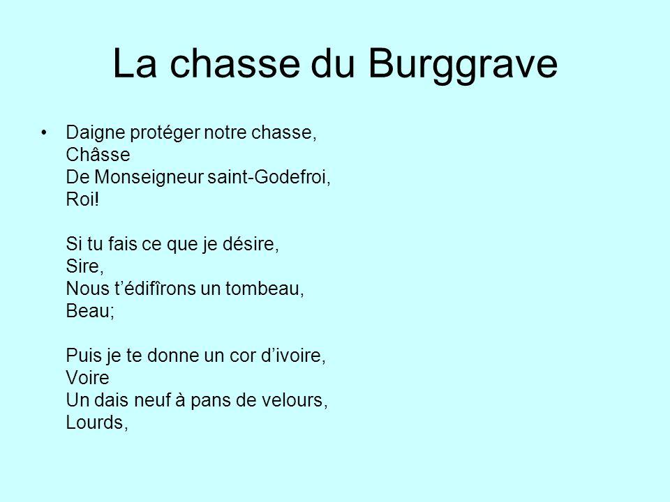 La chasse du Burggrave