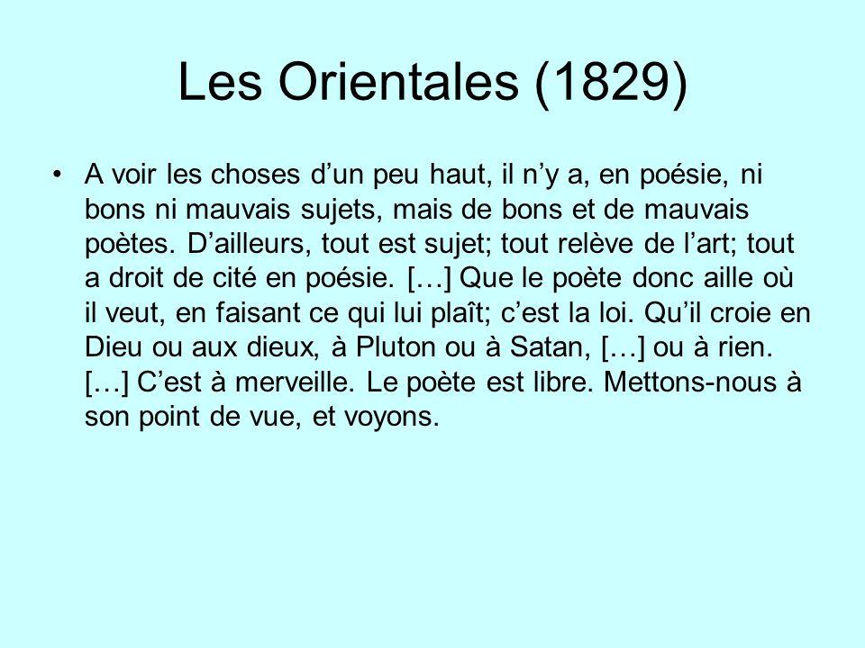 Les Orientales (1829)