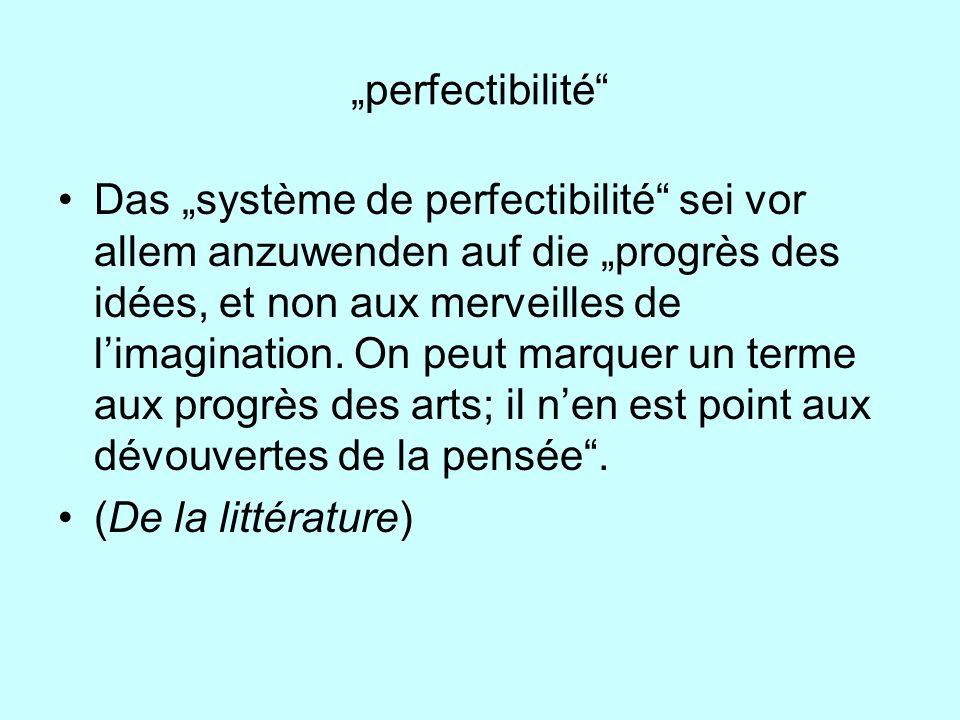 """""""perfectibilité"""