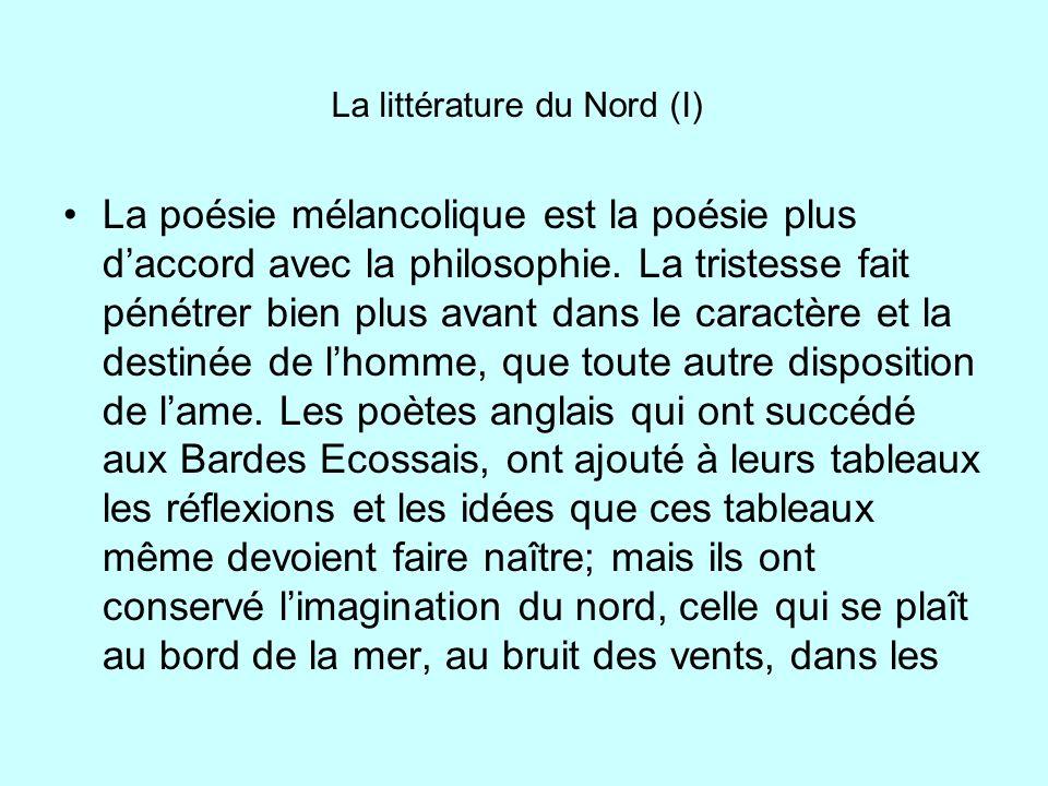 La littérature du Nord (I)