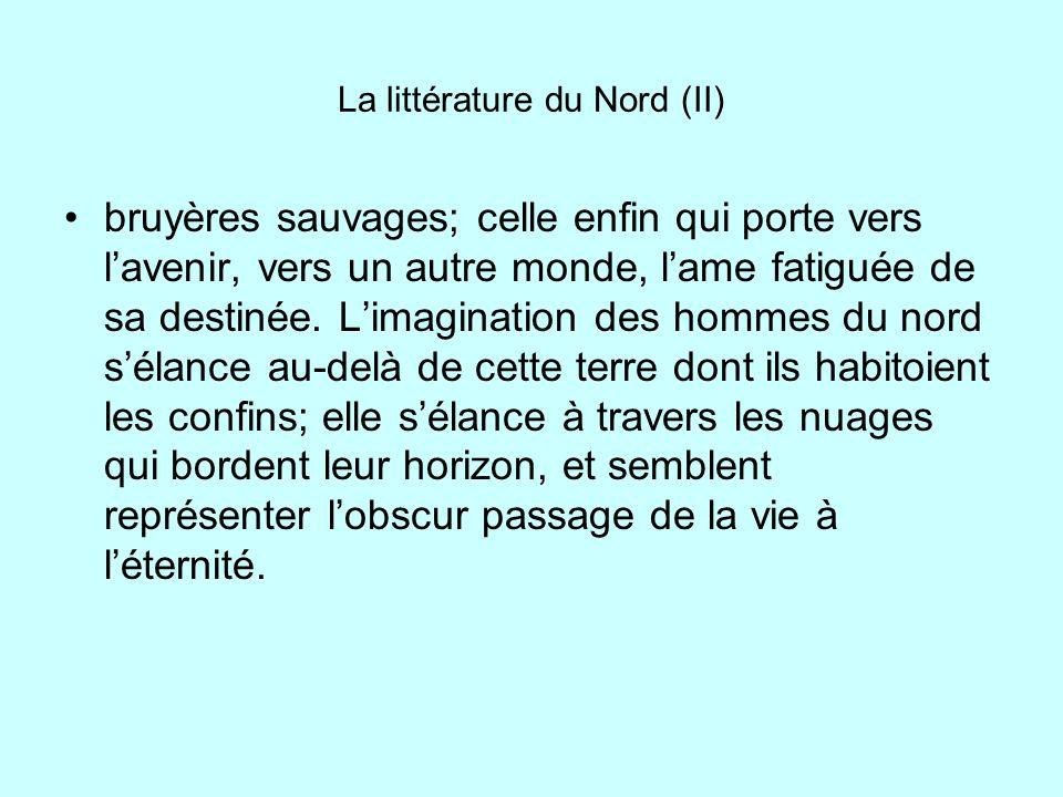 La littérature du Nord (II)