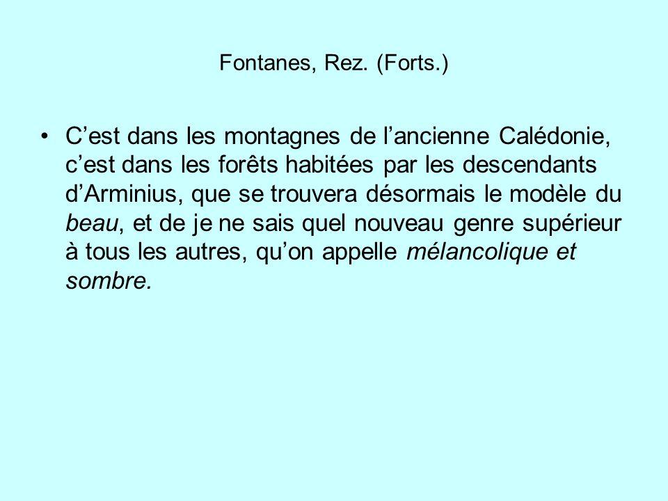 Fontanes, Rez. (Forts.)