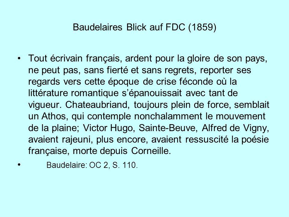 Baudelaires Blick auf FDC (1859)