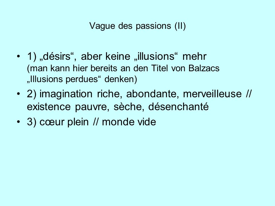Vague des passions (II)