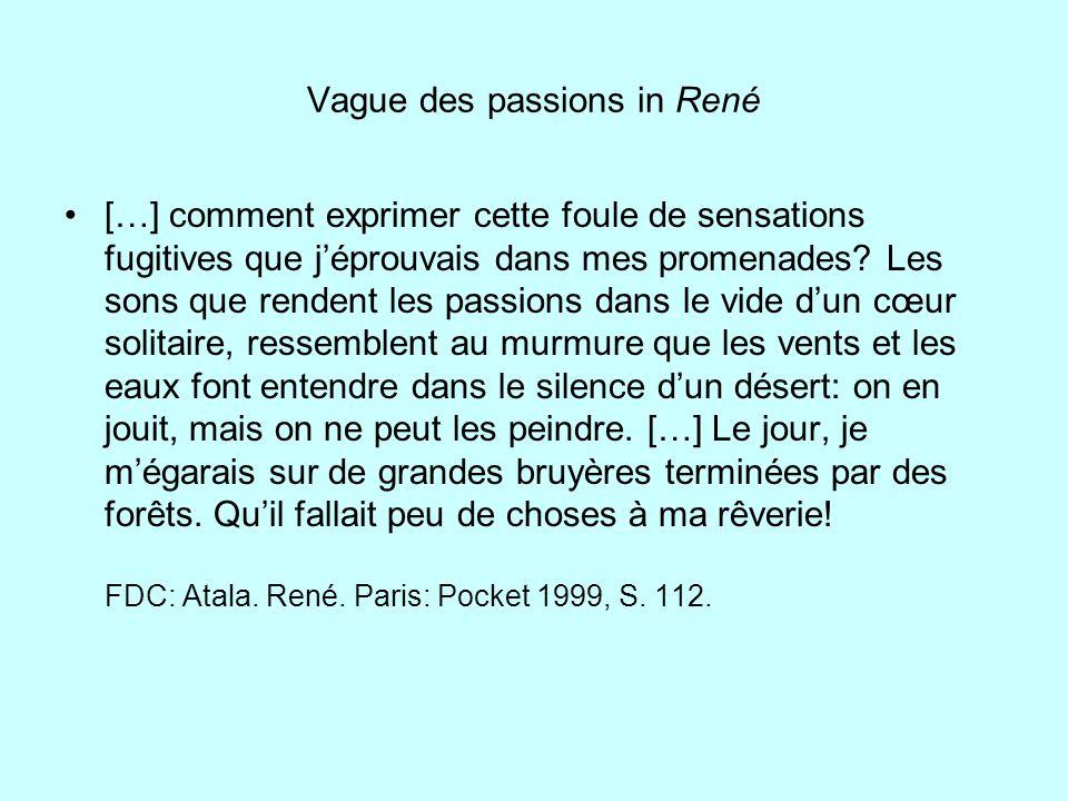Vague des passions in René
