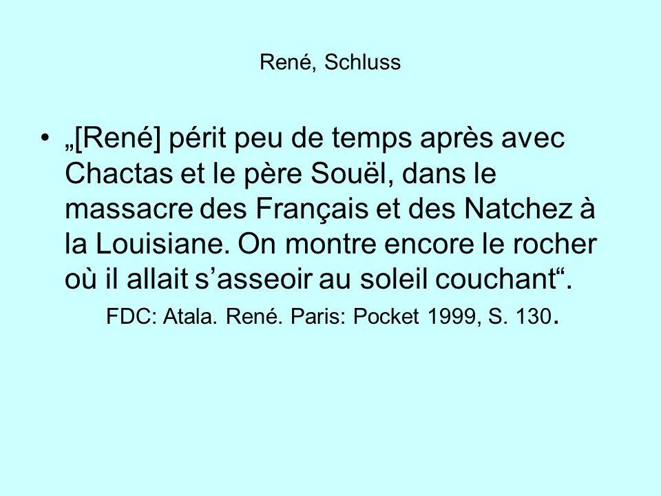 René, Schluss