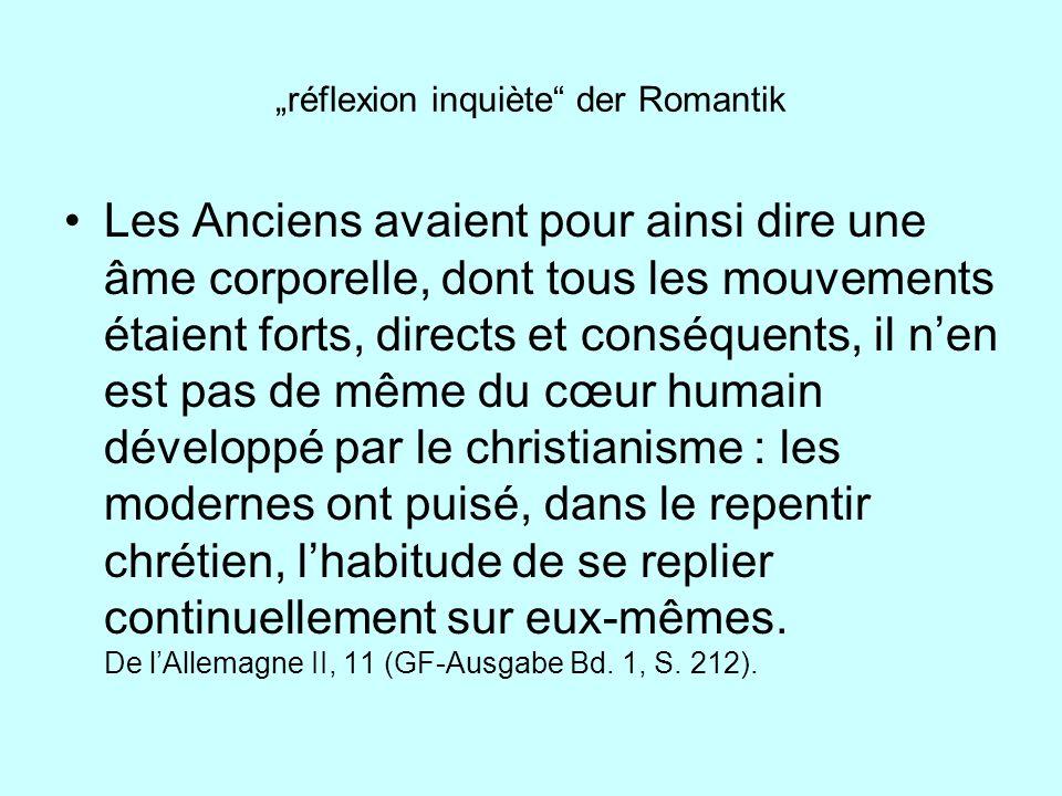 """""""réflexion inquiète der Romantik"""
