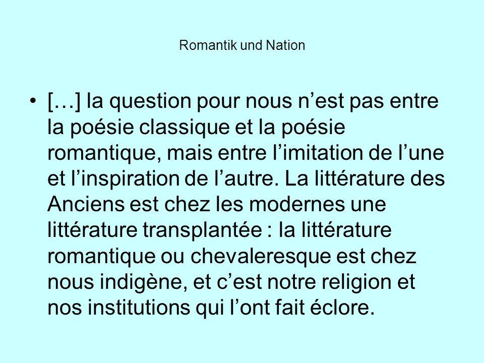 Romantik und Nation