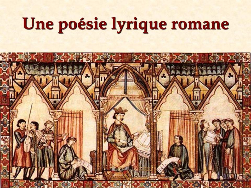 Une poésie lyrique romane