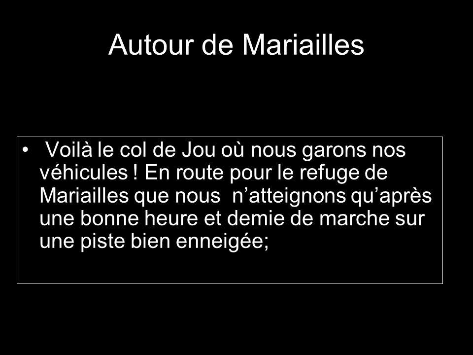 Autour de Mariailles