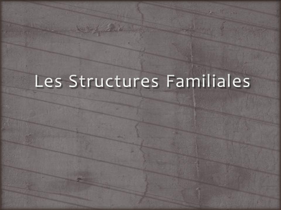 Les Structures Familiales