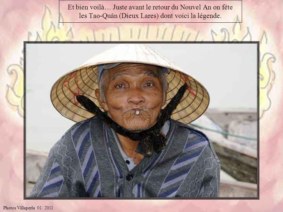 Et bien voilà… Juste avant le retour du Nouvel An on fête les Tao-Quân (Dieux Lares) dont voici la légende.