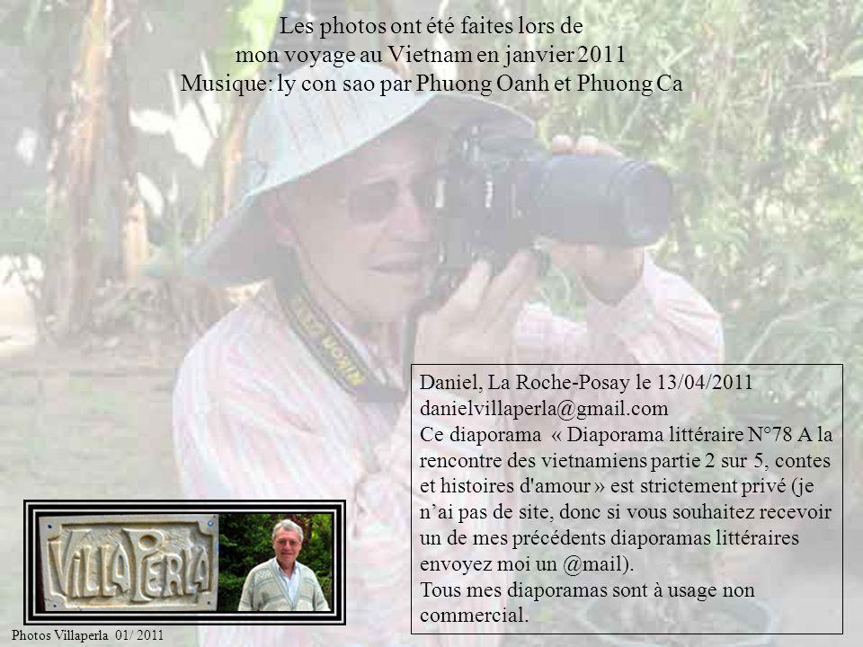 Les photos ont été faites lors de mon voyage au Vietnam en janvier 2011 Musique: ly con sao par Phuong Oanh et Phuong Ca