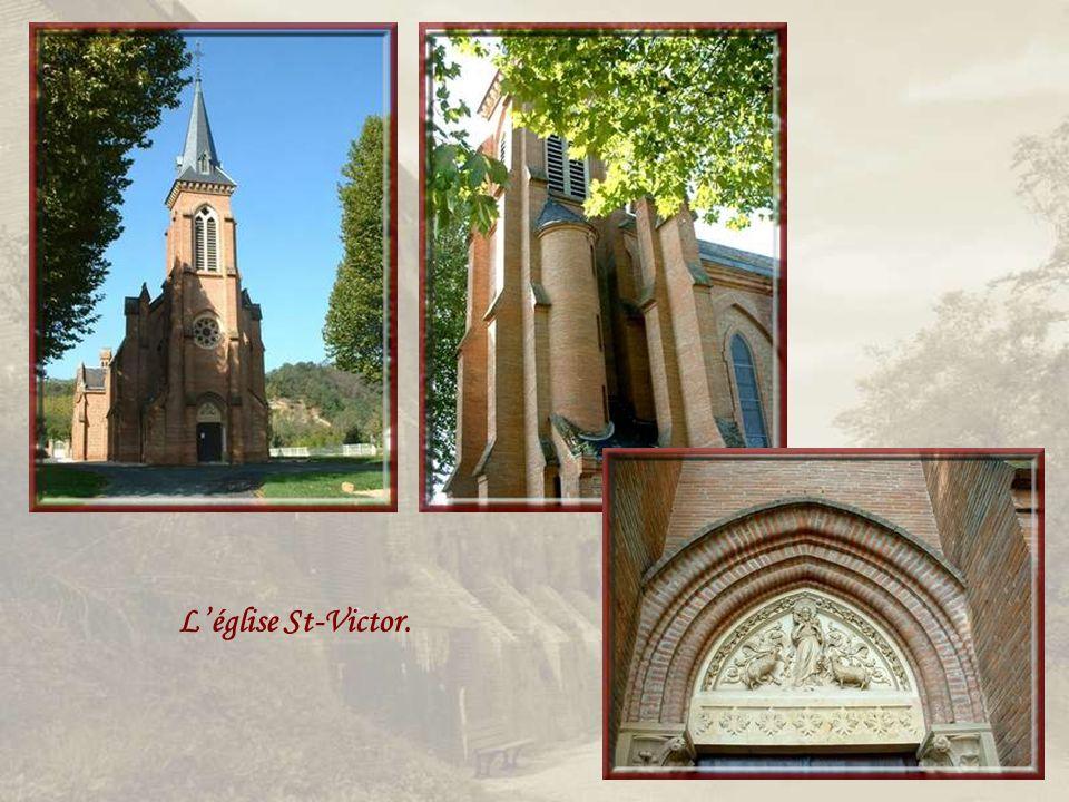 L'église St-Victor.