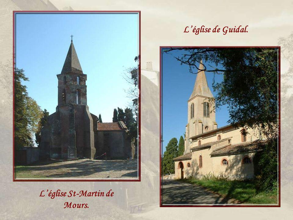 L'église St-Martin de Mours.
