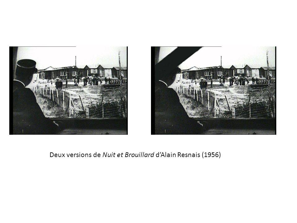 Deux versions de Nuit et Brouillard d'Alain Resnais (1956)