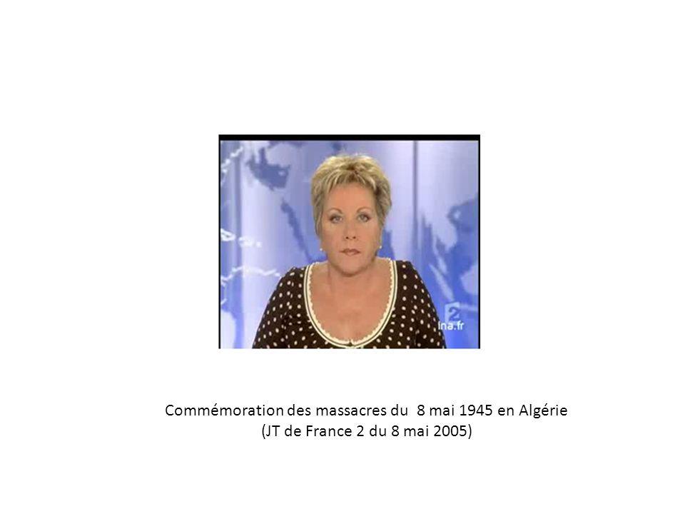 Commémoration des massacres du 8 mai 1945 en Algérie