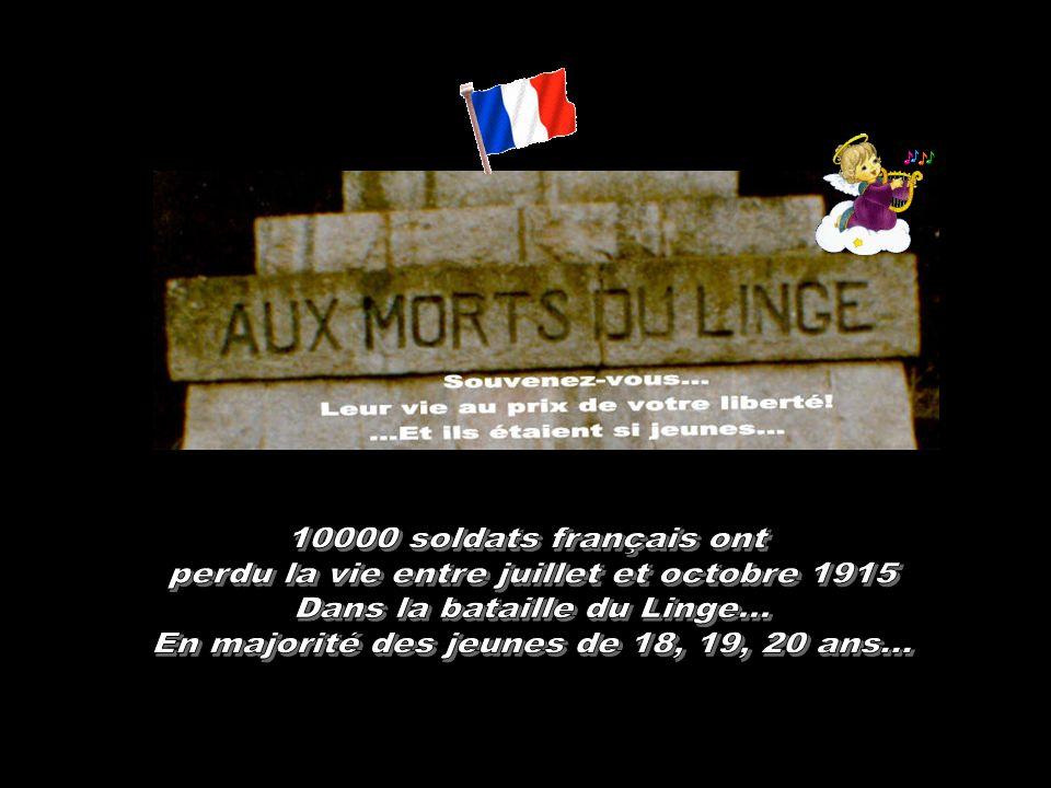 perdu la vie entre juillet et octobre 1915