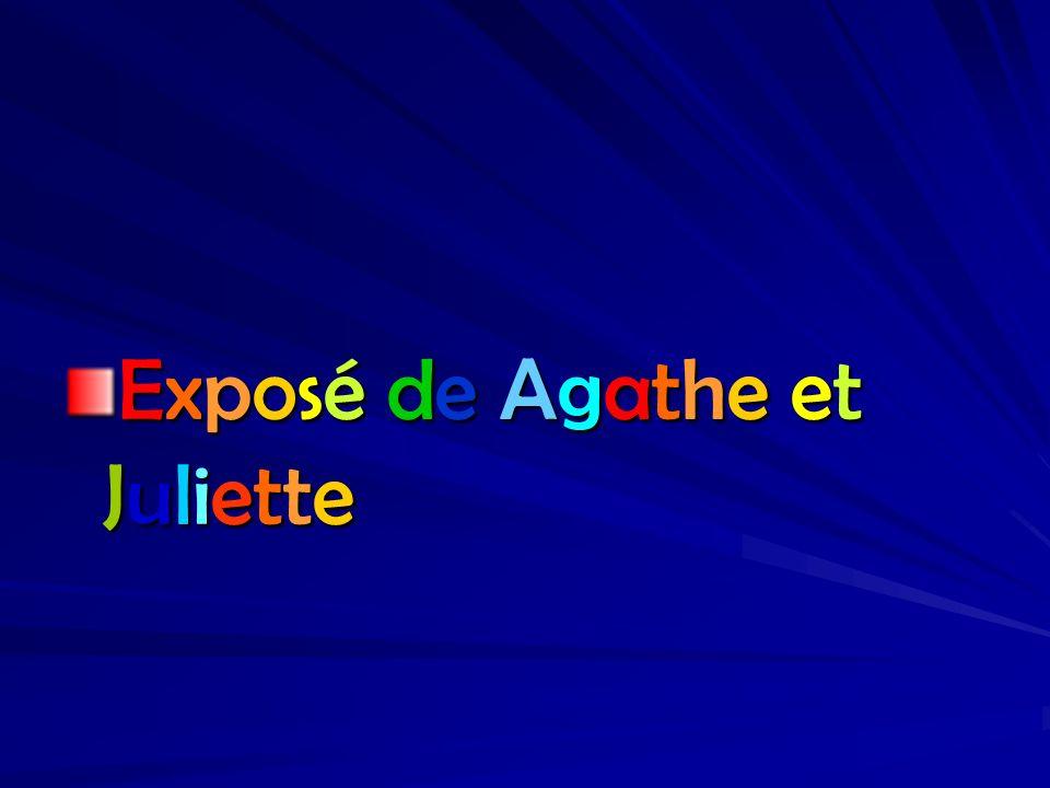 Exposé de Agathe et Juliette