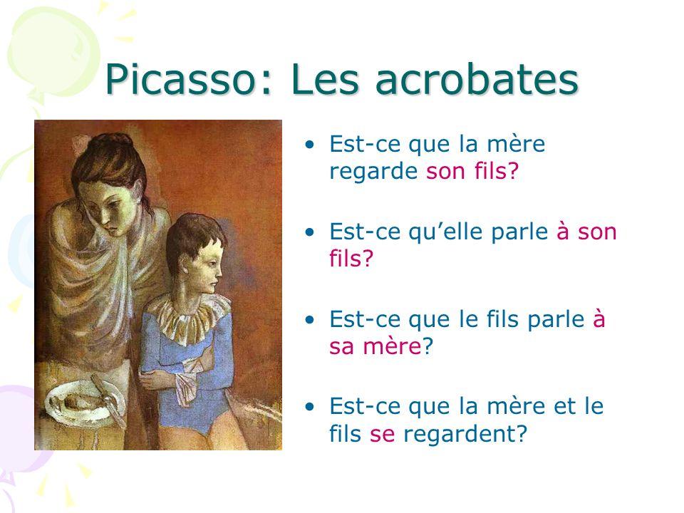 Picasso: Les acrobates