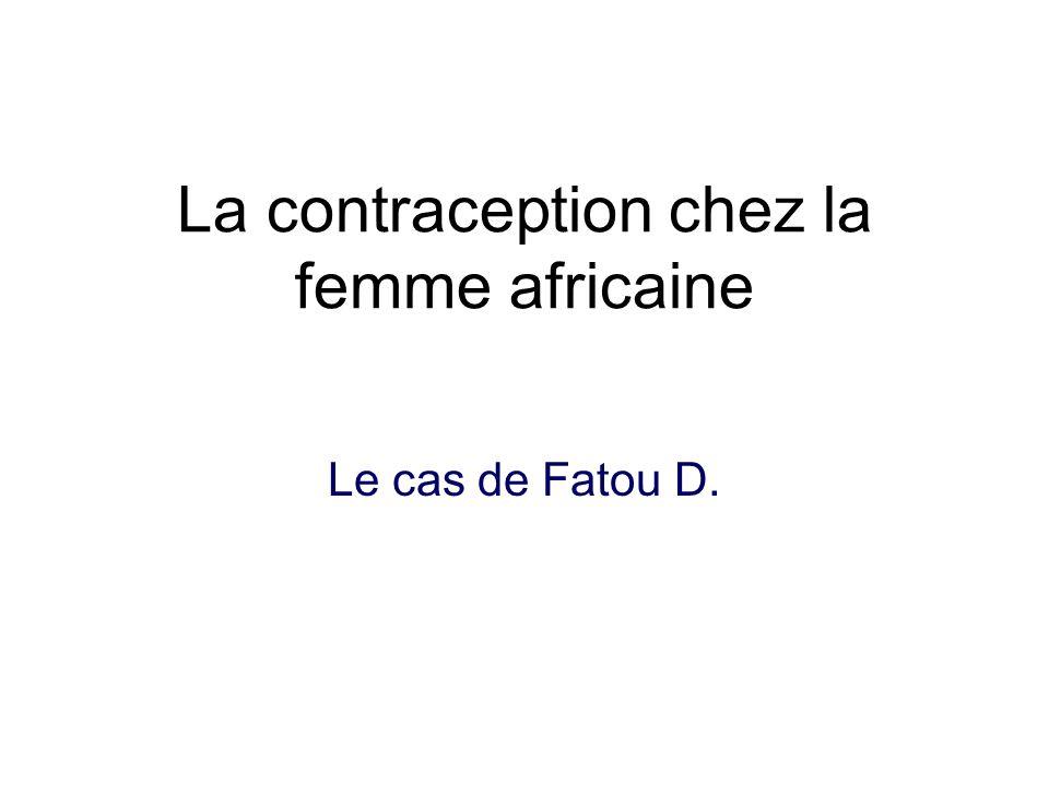 La contraception chez la femme africaine