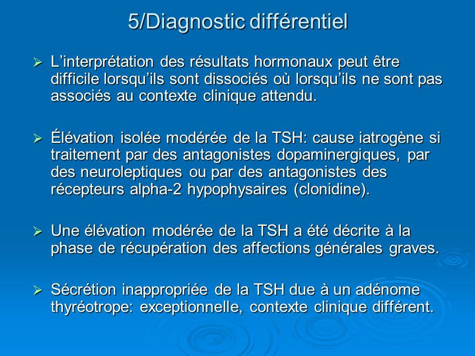 5/Diagnostic différentiel