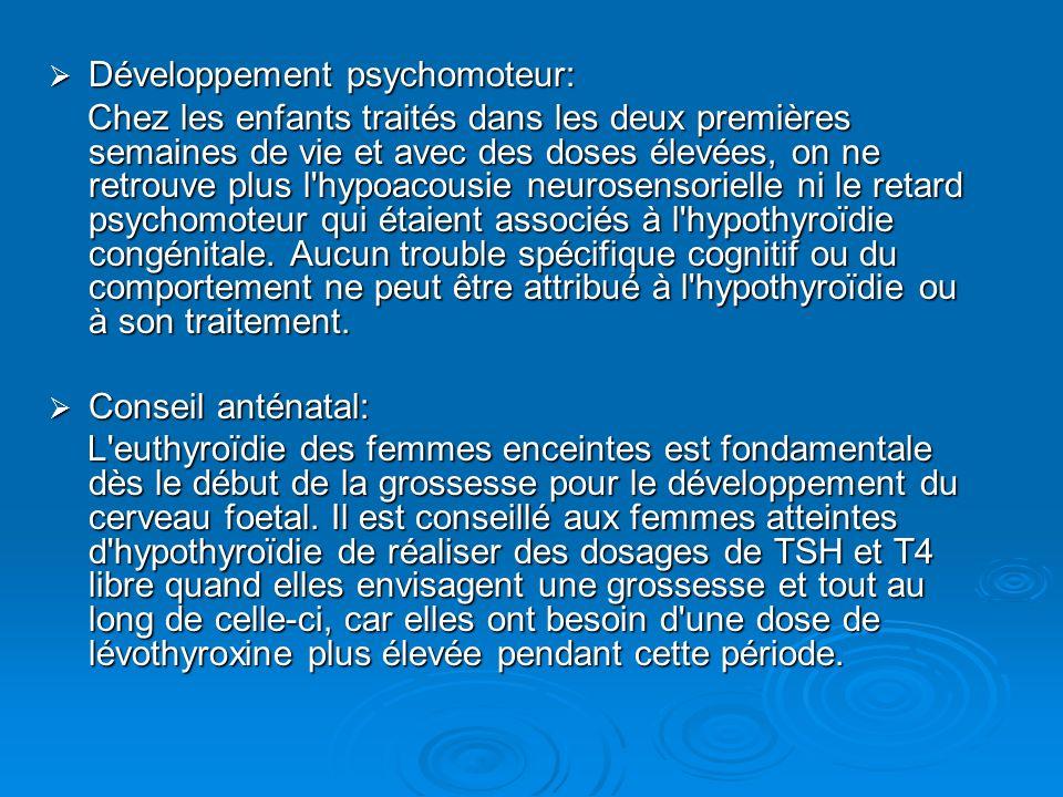 Développement psychomoteur: