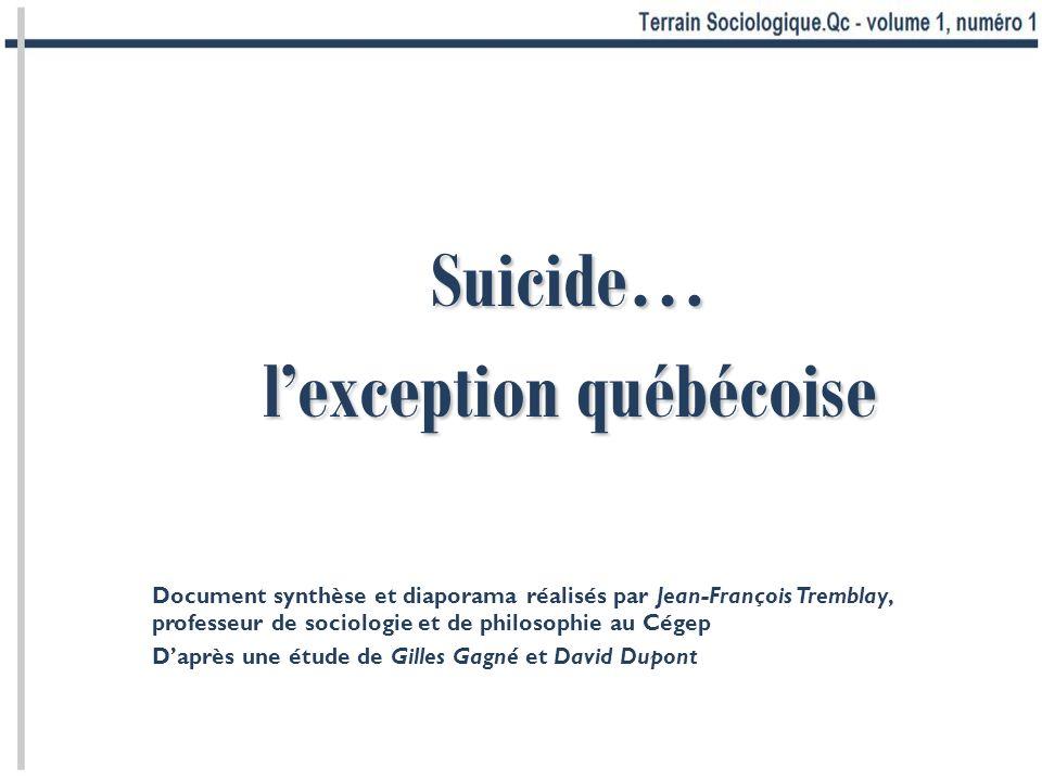 l'exception québécoise