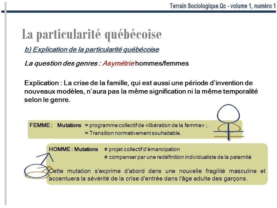 ♀ ♂ La particularité québécoise