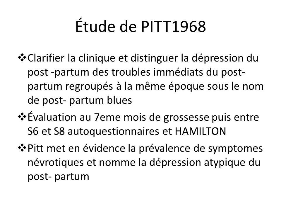 Étude de PITT1968
