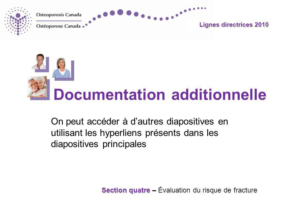 Documentation additionnelle