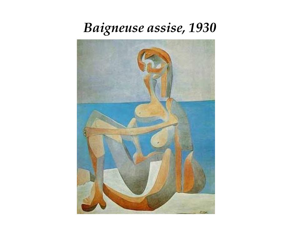 Baigneuse assise, 1930