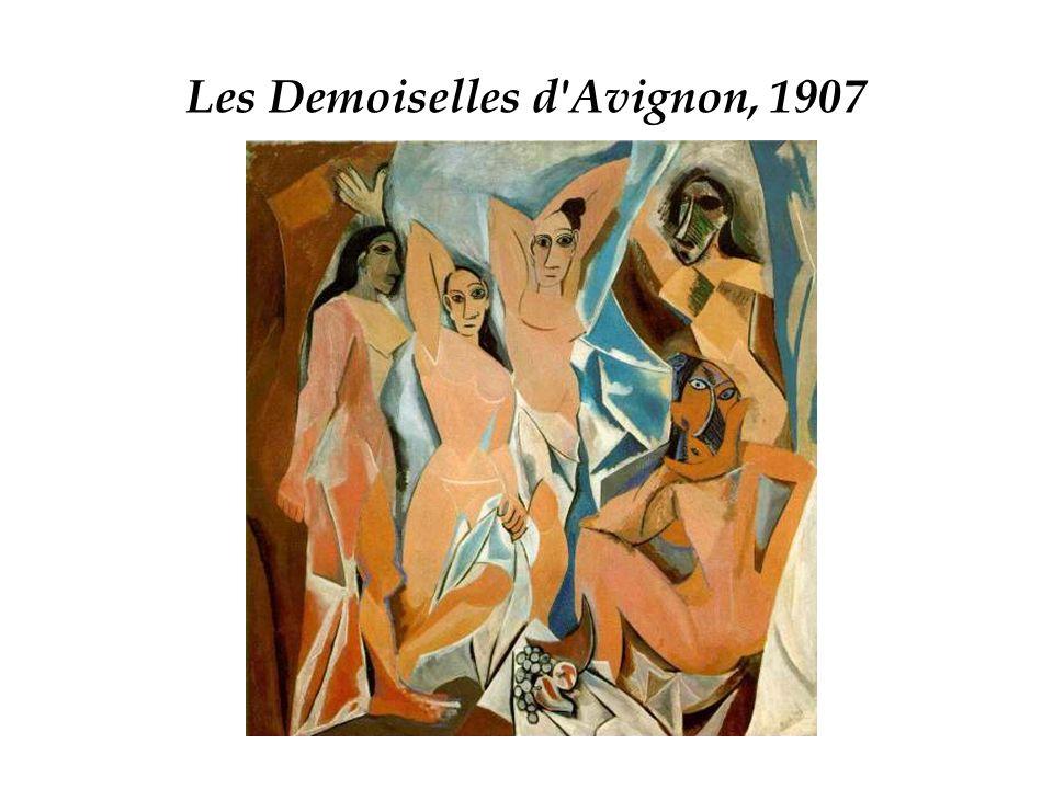 Les Demoiselles d Avignon, 1907