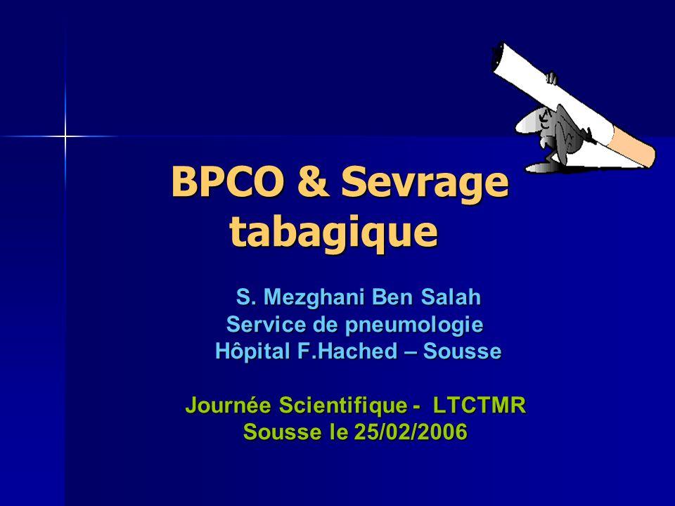 BPCO & Sevrage tabagique